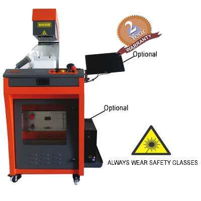 Laser Hallmarking Branding Marking machine for gold jewellery